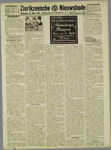 Zierikzeesche Nieuwsbode 1924-05-19