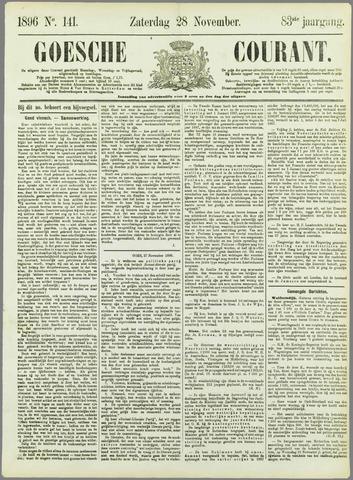Goessche Courant 1896-11-28