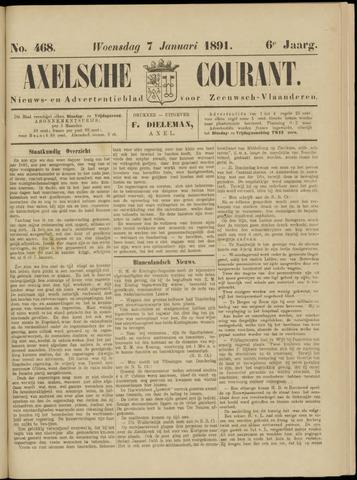 Axelsche Courant 1891-01-07