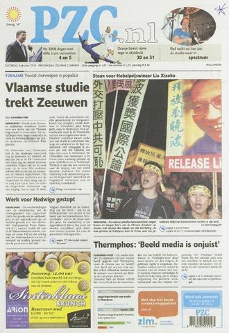 Provinciale Zeeuwse Courant 2010-10-09