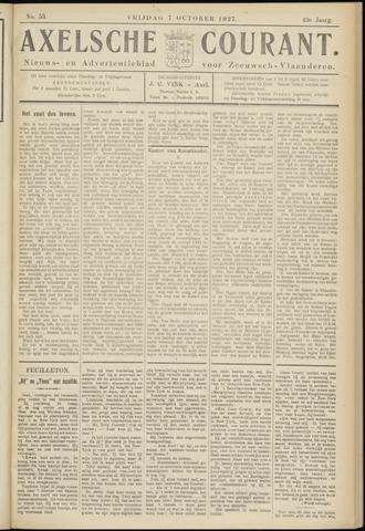 Axelsche Courant 1927-10-07