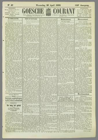 Goessche Courant 1932-04-20