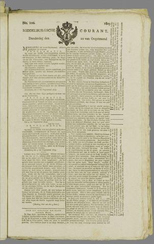 Middelburgsche Courant 1809-08-10