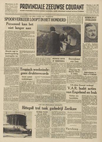 Provinciale Zeeuwse Courant 1961-07-03