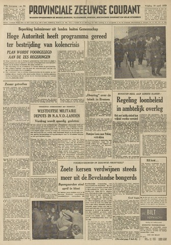 Provinciale Zeeuwse Courant 1959-04-10