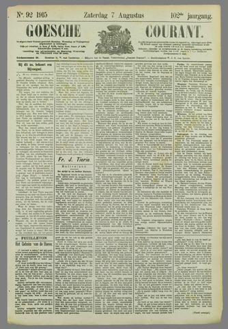 Goessche Courant 1915-08-07