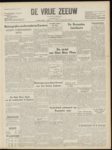 de Vrije Zeeuw 1954-04-26