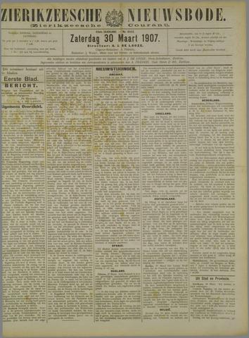 Zierikzeesche Nieuwsbode 1907-03-30
