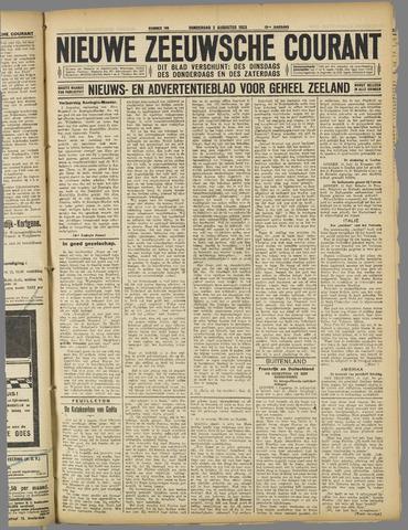 Nieuwe Zeeuwsche Courant 1923-08-02
