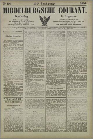 Middelburgsche Courant 1884-08-14