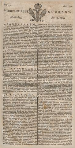 Middelburgsche Courant 1779-05-13