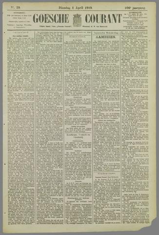 Goessche Courant 1919-04-01