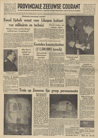 Provinciale Zeeuwse Courant 1958-10-10