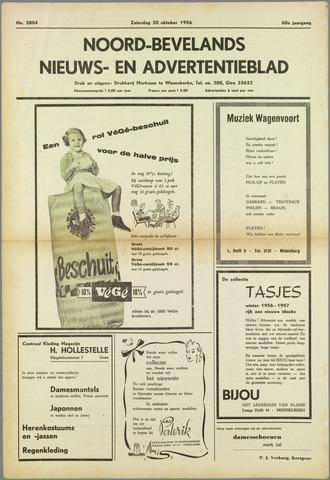 Noord-Bevelands Nieuws- en advertentieblad 1956-10-20