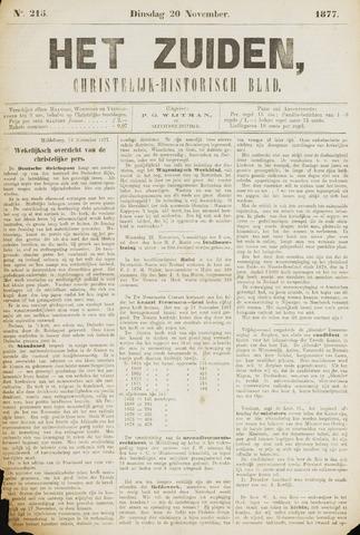 Het Zuiden, Christelijk-historisch blad 1877-11-20