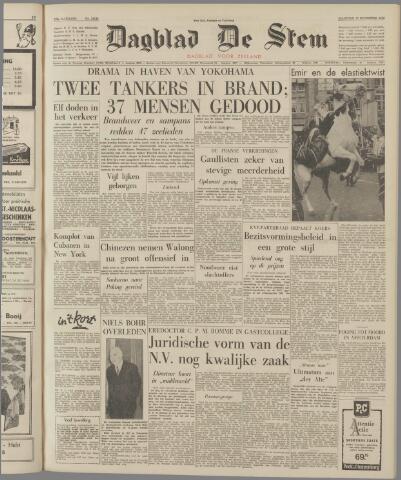 de Stem 1962-11-19