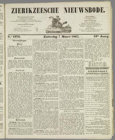Zierikzeesche Nieuwsbode 1863-03-07