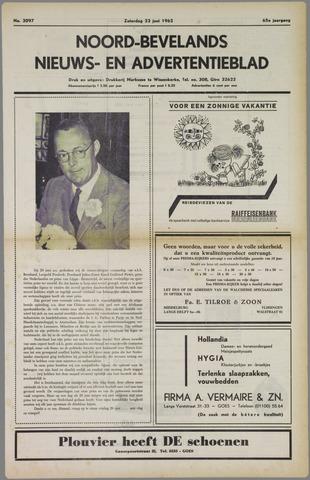Noord-Bevelands Nieuws- en advertentieblad 1962-06-23