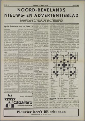 Noord-Bevelands Nieuws- en advertentieblad 1968-10-19
