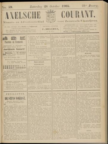 Axelsche Courant 1905-10-28