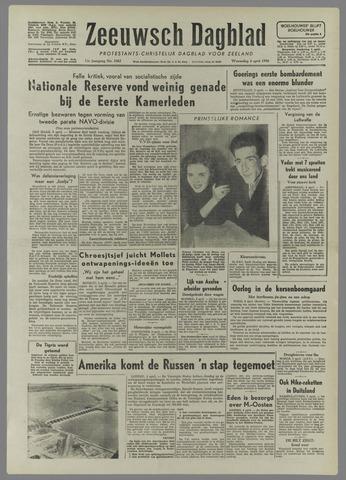 Zeeuwsch Dagblad 1956-04-04