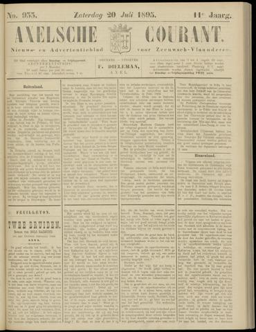 Axelsche Courant 1895-07-20