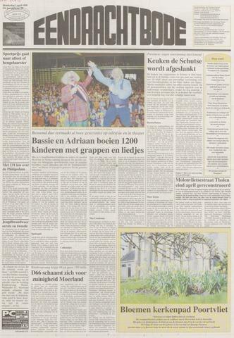 Eendrachtbode (1945-heden)/Mededeelingenblad voor het eiland Tholen (1944/45) 1999-04-01