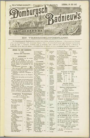 Domburgsch Badnieuws 1907