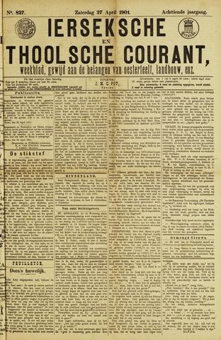 Ierseksche en Thoolsche Courant 1901-04-27