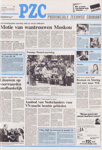 Provinciale Zeeuwse Courant 1990-05-25