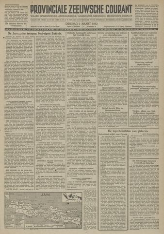 Provinciale Zeeuwse Courant 1942-03-03