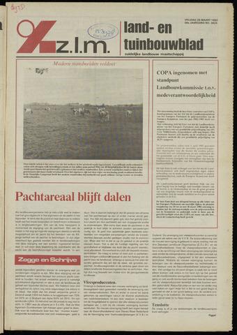 Zeeuwsch landbouwblad ... ZLM land- en tuinbouwblad 1982-03-26