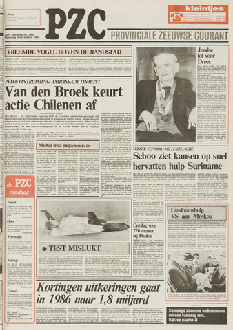 Provinciale Zeeuwse Courant 1984-12-03