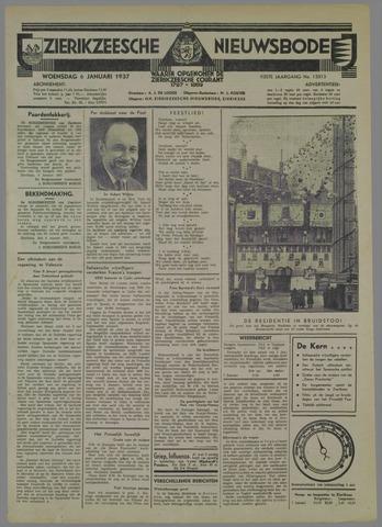 Zierikzeesche Nieuwsbode 1937-01-06