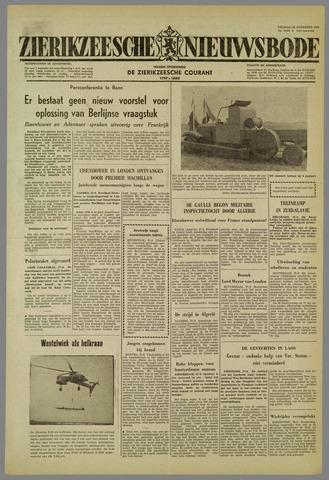 Zierikzeesche Nieuwsbode 1959-08-28