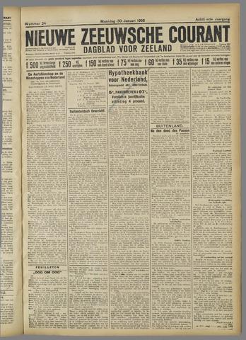 Nieuwe Zeeuwsche Courant 1922-01-30