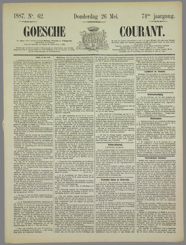 Goessche Courant 1887-05-26