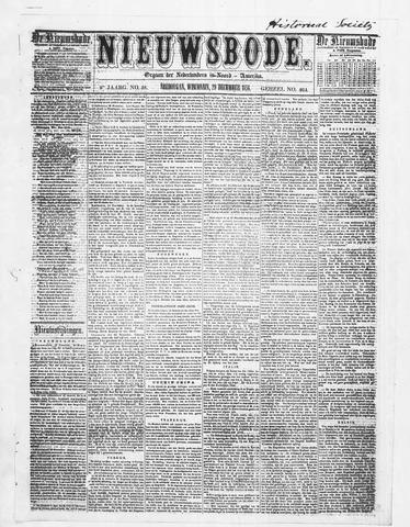 Sheboygan Nieuwsbode 1858-12-29