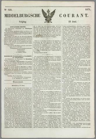 Middelburgsche Courant 1871-06-23