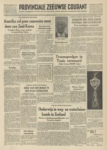 Provinciale Zeeuwse Courant 1953-07-02
