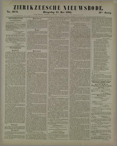 Zierikzeesche Nieuwsbode 1885-05-12