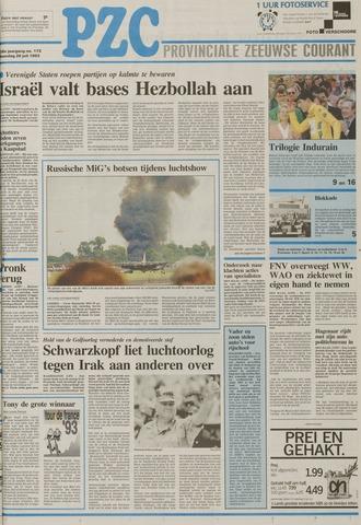 Provinciale Zeeuwse Courant 1993-07-26