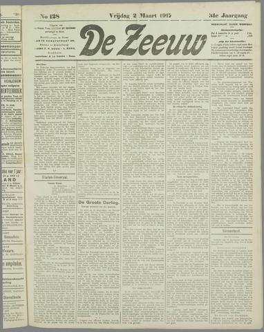 De Zeeuw. Christelijk-historisch nieuwsblad voor Zeeland 1917-03-02