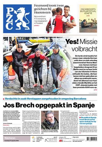 Provinciale Zeeuwse Courant 2018-08-27