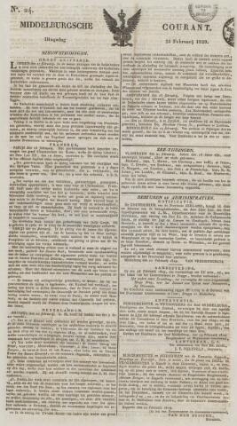 Middelburgsche Courant 1829-02-24