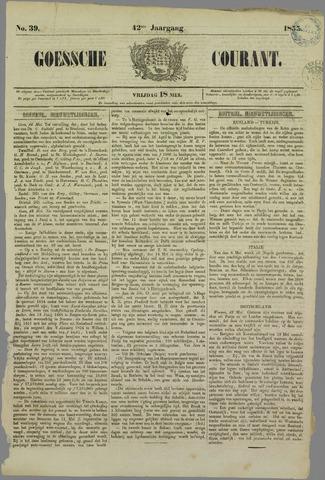 Goessche Courant 1855-05-18
