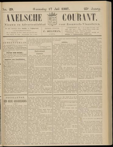 Axelsche Courant 1907-07-17