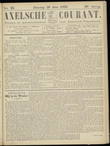 Axelsche Courant 1923-06-26