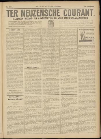 Ter Neuzensche Courant. Algemeen Nieuws- en Advertentieblad voor Zeeuwsch-Vlaanderen / Neuzensche Courant ... (idem) / (Algemeen) nieuws en advertentieblad voor Zeeuwsch-Vlaanderen 1930-08-11