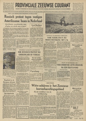 Provinciale Zeeuwse Courant 1954-03-22